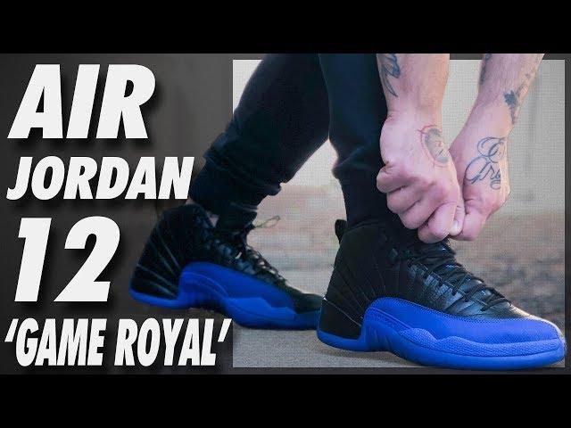 royal 12 jordans