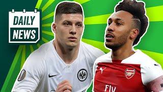 Champions League Viertelfinal-Auslosung! Frankfurt rettet die Bundesliga! Schalke: Tedesco raus!