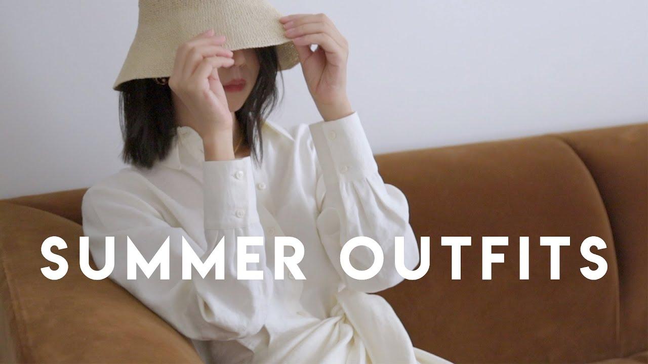 夏季穿搭 | 夏日通勤、運動、度假、約會統統搞定 | Outfit Ideas