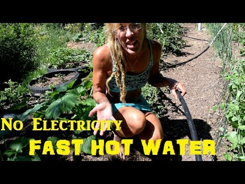 Endless Hot Water without Electricity!