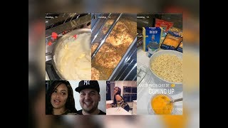 Alexis Skyy Cooking For Rob Kardashian For Date Night #BlacChyna