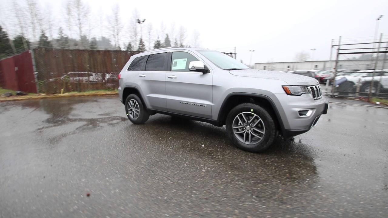 2017 Jeep Grand Cherokee Limited | Billet Silver Metallic | HC750579 | Redmond | Seattle | - YouTube