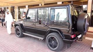 G63 AMG V8 Biturbo Mercedes-Benz of Sheikh Mohammed's son Sheikh Hamdan (سيارة حاكم دبي )