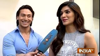 Chal Wahan Jaate Hain: Tiger Shroff and Kriti Sanon Exclusive Interview - India TV