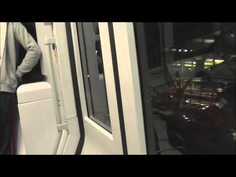 Random Elevator Tour + People mover @ Düsseldorf Airport