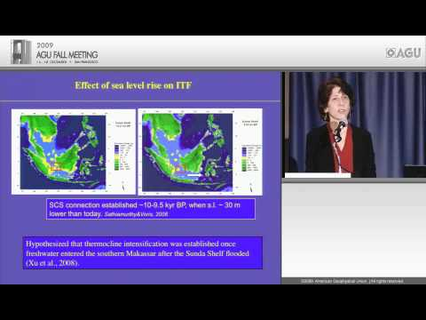 PP31E - Emiliani Lecture - Holocene Changes in the Indonesian Throughflow Region