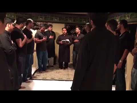 1st Moharram, Noha Reciting by Noha khawan Mir Johan Ali Zawar
