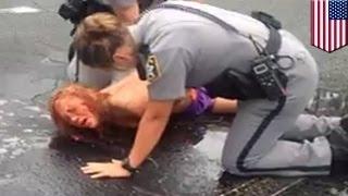 Наркоманка под действием флакка разделась догола и была арестована