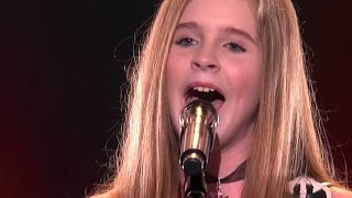 Country Girl Kadie Lynn, 12, Blows The Crowd Away | Judge Cu...