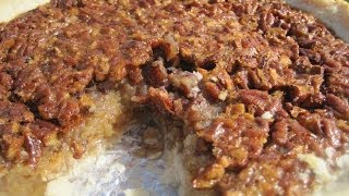 Thanksgiving Day SOUTHERN PECAN PIE - How to make PECAN PIE Recipe