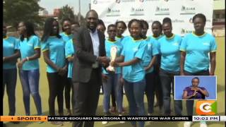 Jackie Mwangi best sports personality of December 2018