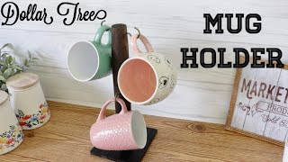 Dollar Tree DIY Mug Holder