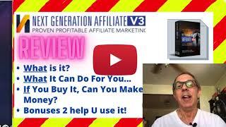 WAIT - Next Generation Affiliate Review + Bonuses =
