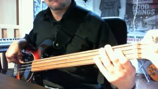 Everytime You Go Away - Paul Young - Bass Cover - Pino Palladino Bassline