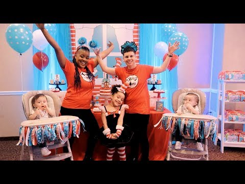 Twins First Birthday Party Special | Dr. Seuss' The Cat in the Hat