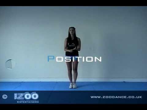 Cheerleading Arm Motions Tutorial