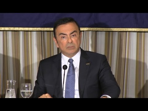 "Carlos Ghosn:""The Way Ahead; Trends Reshaping the Auto Industry"""