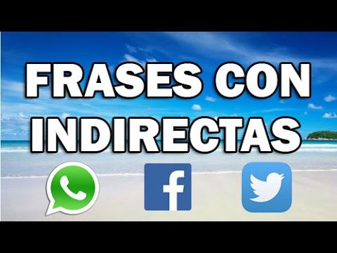 Estados y frases con indirectas para Whatsapp - Facebook #49 - Gente falsa, envidiosos, desamor etc