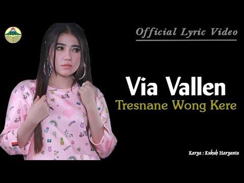 Tresnane Wong Kere - Via Vallen (OM. Sera)     Lyric   #music