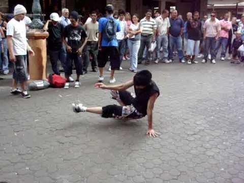 Break Dancing in San Jose, Costa Rica