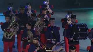 QUEBEC TATTOO 2012 - MUSIQUE DES FORCES TERRESTRES DE LILLE - FRANCE -  FIMMQ 2012