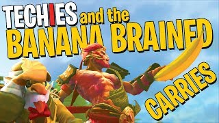 Techies & The Banana Brained Carries - DotA 2