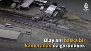 Cizre'deki güvenlik zaafının görüntüleri