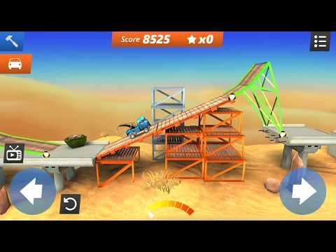BC Stunts -  Bridge Constructor Stunts  Gameplay   Android/iOS