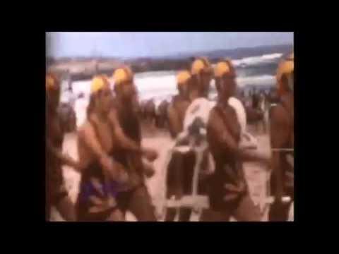 Surf Life Saving Carnival - circa 1960s (Rough Footage)