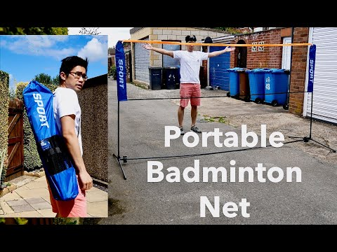 Sport2go Portable Badminton Net - Unboxing, Set Up and Review