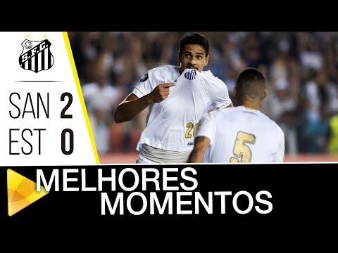 Santos 2 x 0 Estudiantes | MELHORES MOMENTOS | Libertadores (24/04/18)