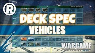 Wargame: AirLand Battle - Deck Spec - Vehicles