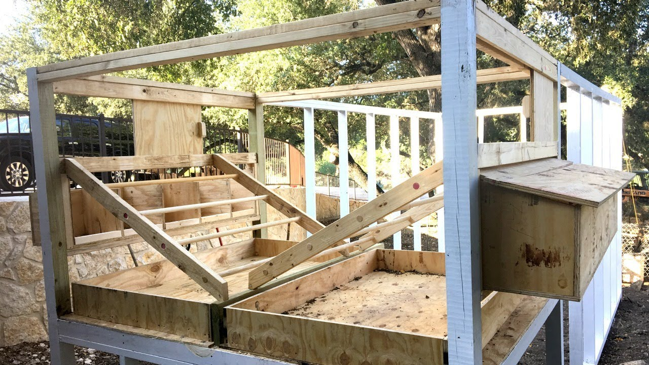 Building a Chicken Coop - Part 1 - YouTube