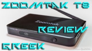 Part 2: Review of the Quad Core Zoomtak T8 Android TV Box (Greek)