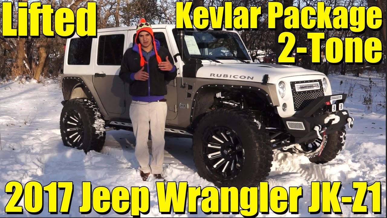 Jeep Wrangler Jk >> KEVLAR 2-TONE PACKAGE! Amazing LIFTED Custom 2017 Jeep Wrangler Rubicon! JK-Z2 by SCA ...