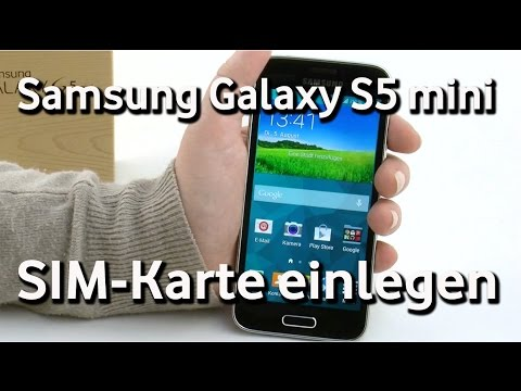 samsung galaxy s5 mini vodafone sim karte einlegen youtube. Black Bedroom Furniture Sets. Home Design Ideas