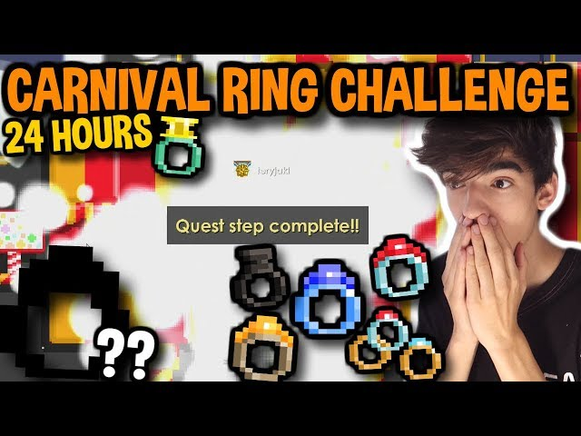 HOW MANY CARNIVAL RINGS CAN I GET IN 24 HOURS?!   Growtopia