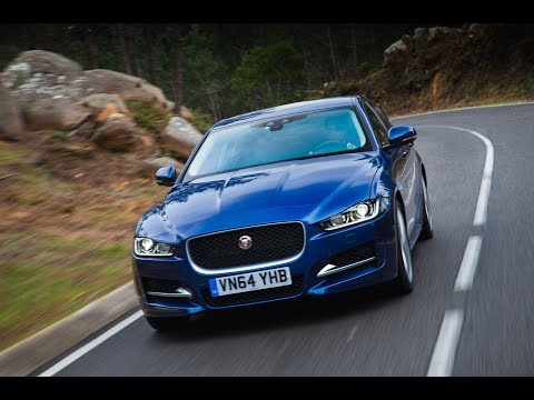 2015 Jaguar XE driven - car review