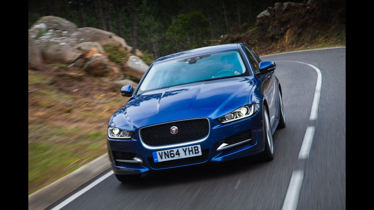 Jaguar XE Driven Car Review YouTube - 2015 jaguar xe