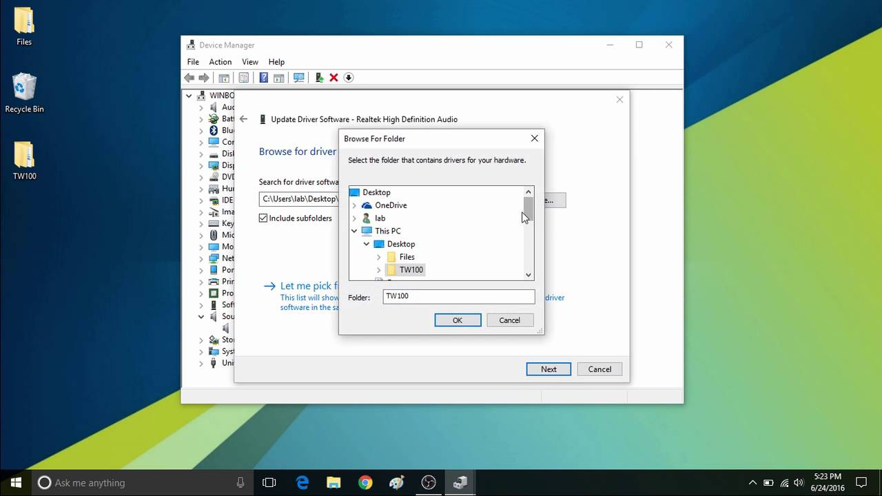 How to Install Drivers Manually on WinBook Tablets