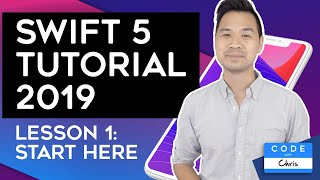 (2019) Swift Tutorial for Beginners: Lesson 1 Video