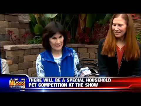 "Pet Patrol by Sandie Lampe ""San Diego cat fanciers show at Del Mar Fair"" on KUSI-TV"