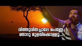 Kavungatte Ambalathil karoake with Malayalam Lyrics