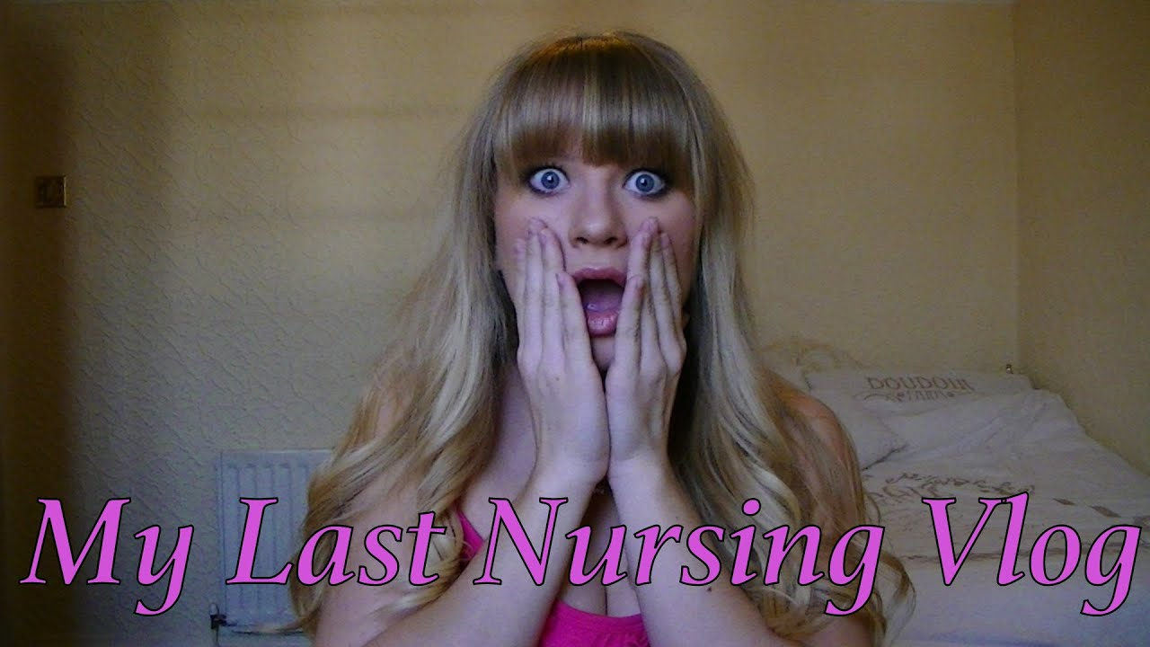 Adult Nursing Vlog - My last one as a student! - YouTube