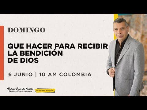 QUE HACER PARA RECIBIR LA BENDICIÓN DE DIOS📺 Encuentro Dominical En Línea Con Dios Domingo/06/Junio
