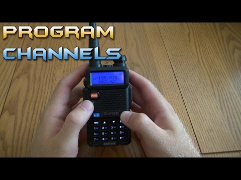 Programming Channels on the BaoFeng UV-5R - DCS and CTCSS