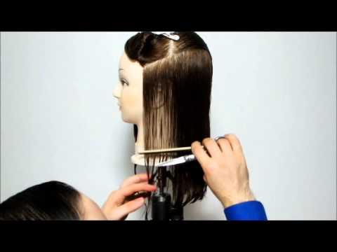 Taglio capelli scalati tutorial