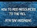 MTA:SA Giving Resources Admin Rights Tutorial