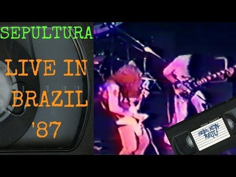 Sepultura Live in Brazil November 1987 Concert