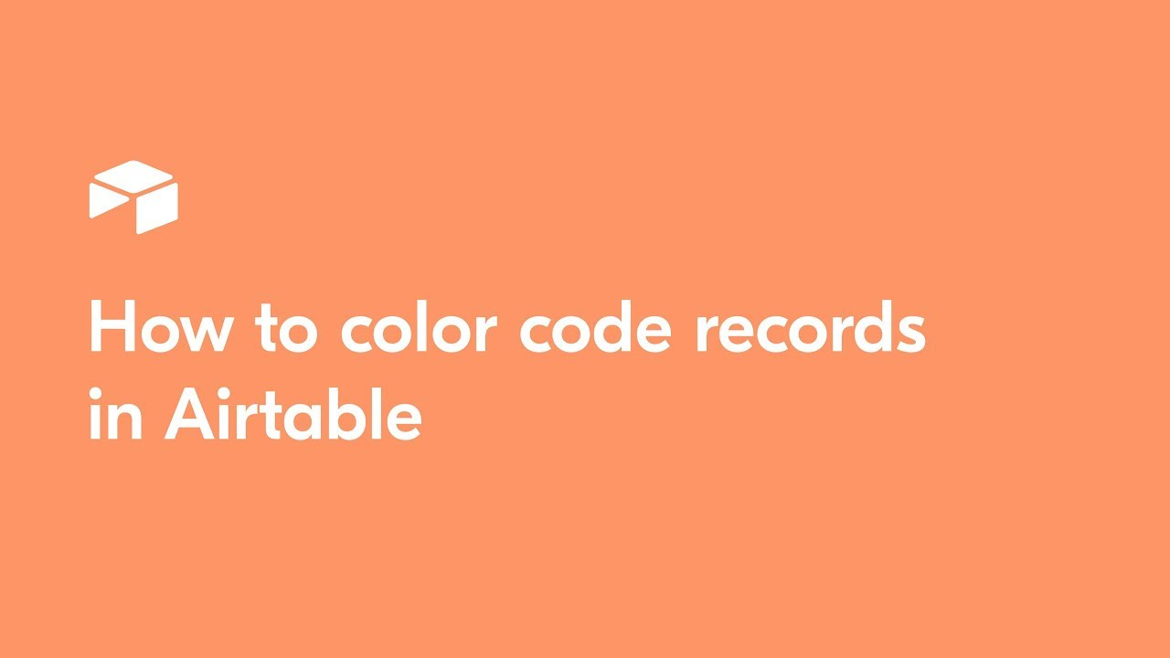 How to color code records in Airtable